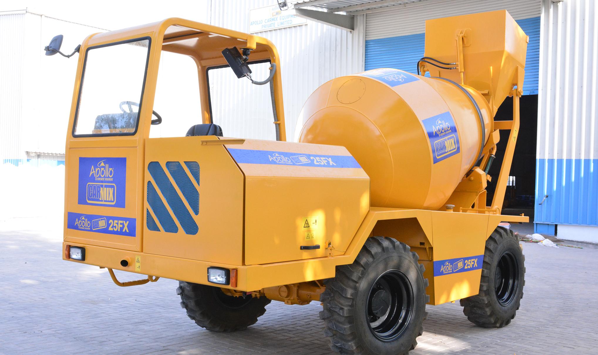 Self Loading Concrete Mixer Manufacturer
