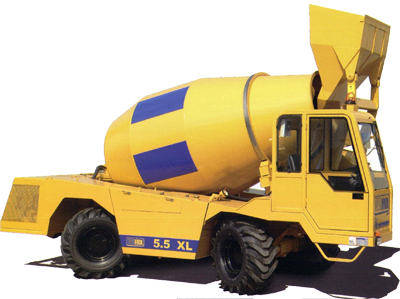 Self-Loading Concrete Mixers