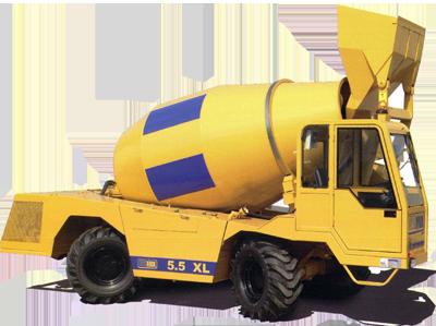 Self-Loading Concrete Mixers
